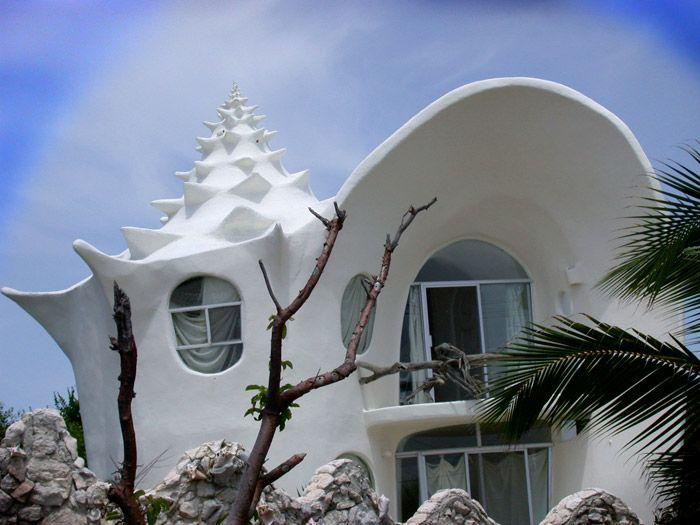 Bardzo oryginalny dom