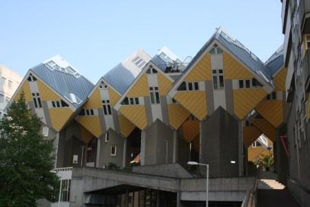 Dom z sześcianów w Holandii
