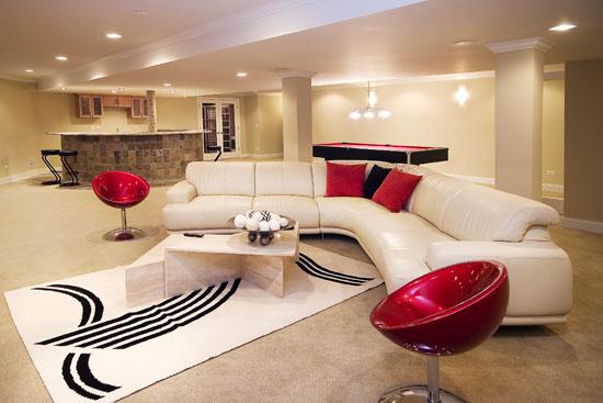 Pomys na mieszkanie sufit for Loft style basement